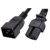 C20 to C15 Power Cords - International