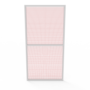 Panel with lattice 1200 x 2400 - filling mesh painted