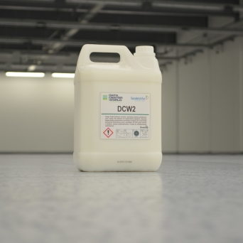 Dedicated coating fluid for DCW 2 electrostatic charge dissipation floors