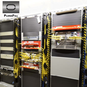 12U Blanking panel sheets for 23in Telco racks