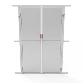Double Hinged Door 45U