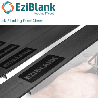 EziBlank 19 inch Blanking Panel Sheets