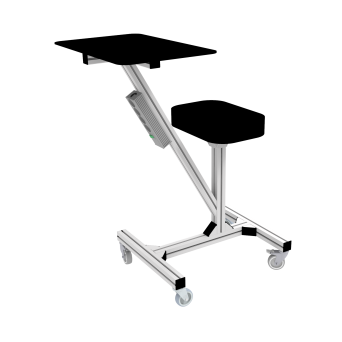 Workstation with a seat STRS