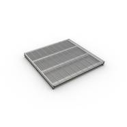 Ventilation grille KW 600x600 without adjustment