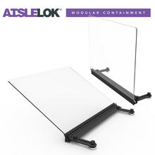 Aislelok Rack Top Angle Baffle 600mm - Pack of 2